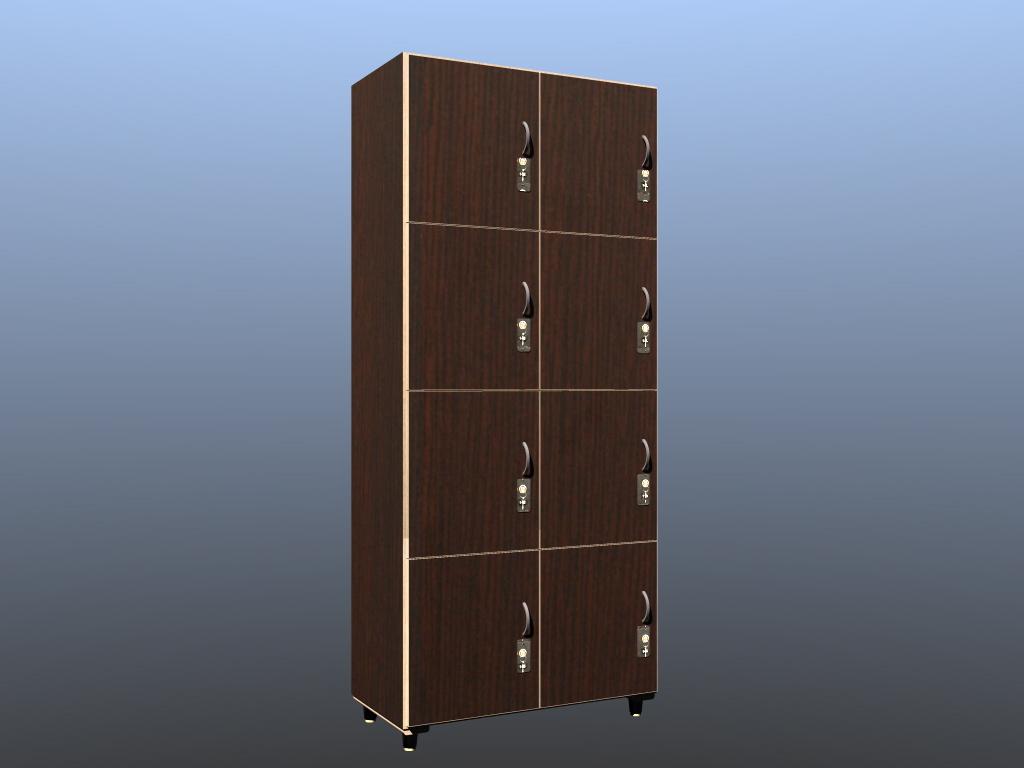 Armadio spogliatoio 8 ante lacc nobil - Forniture Per Palestra